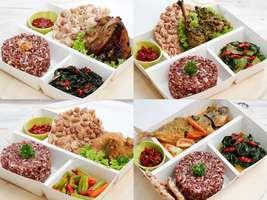 5 Hari Makan Siang Dapur Ibu (Nasi Merah)