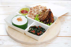 Kulina - Ayam Bakar dan Tumis Kangkung