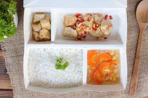 Ayam Cabai Garam  & Sup Wortel Jagung