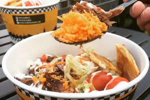 Chicken & Falafel Over Rice