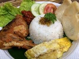 Nasi Ayam Bakar