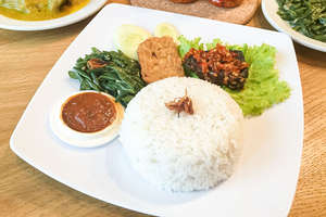 nasi ikan balado