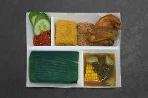 Nasi Timbel Ayam & Sayur Asem