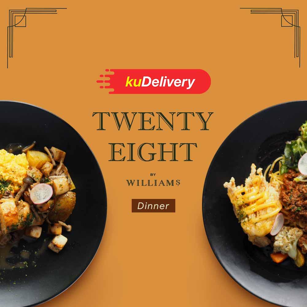 Twenty Eight by William's - Dinner
